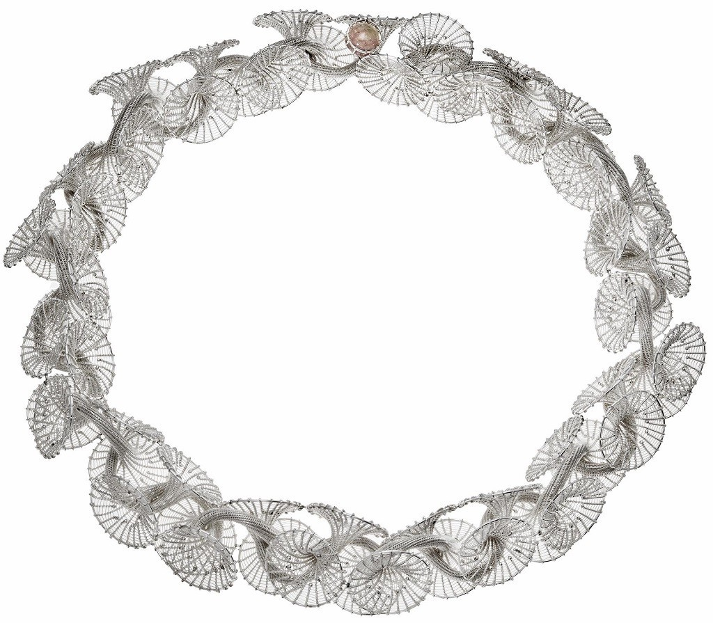 necklace Maja Houtman silver challange nationale zilverdag