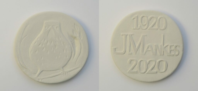 medal Jan Mankes Maja Houtman